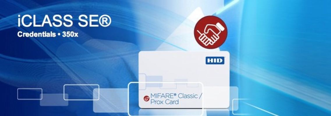 350x SIO Technology-Enabled MIFARE + Prox Card
