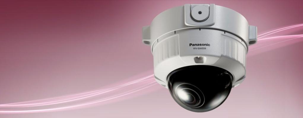 WV-SW559.HD Vandal Resistant IP Dome Camera Full HD, Vandal resistant IP fixed dome featuring Super