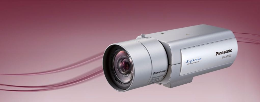 WV-NP502.High Resolution IP Camera Revolutionary WV-NP502 Megapixel H.264 Network Camera featuring S