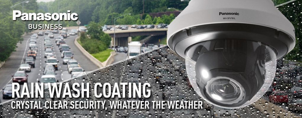 WV-SW598A.PTZ IP Dome Camera Full HD, vandal resistant IP PTZ dome featuring Super Dynamic Technolog