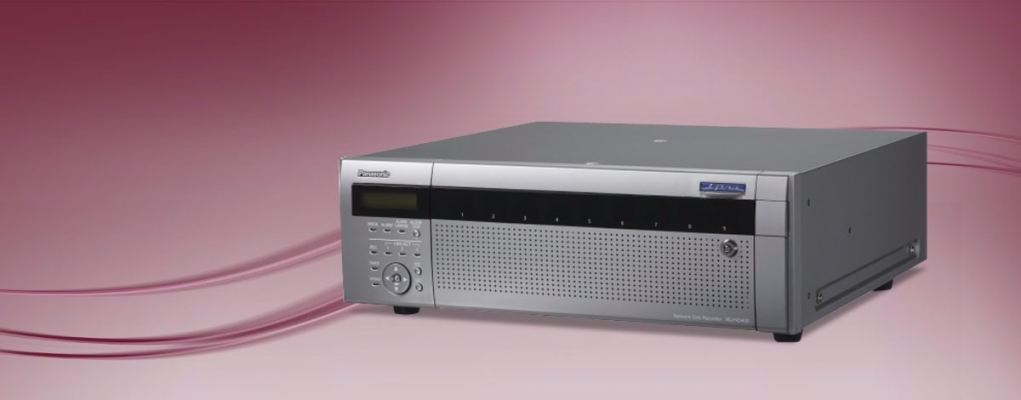 WJ-ND400.Network Disk Recorder High performance Network Disk Recorder for Megapixel i-Pro Network Ca
