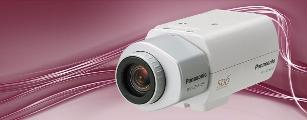 WV-CP600.Analogue Security Camera Compact day/night fixed camera featuring Super Dynamic 6 technolog