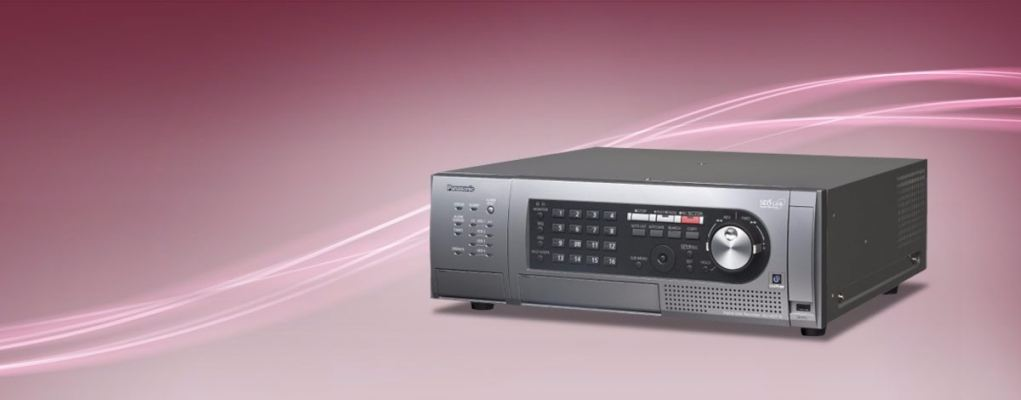 WJ-HD716.Real time, H.264, 16 channel digital video recorder