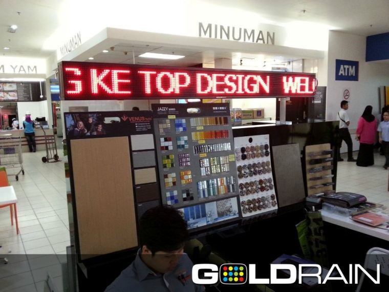 Single Color LED Signbrond  Supplies with Installation in Johor Bahru