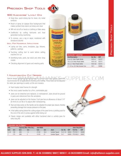 STARRETT Precision Shop Tools
