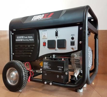 EuroX Europower EGY7502 6KW Petrol Generator E/Start ID559555