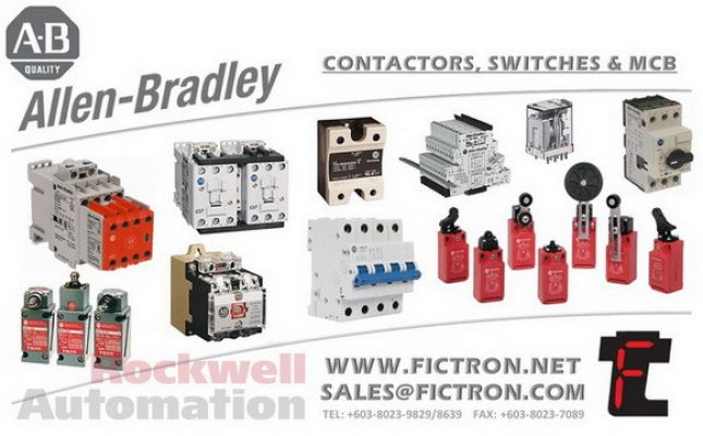 802XR-L1F7 802XRL1F7 802XR AB - Allen Bradley - Rockwell Automation Relays Supply & Repair Malaysia Singapore Thailand Indonesia Philippines Vietnam Europe & USA