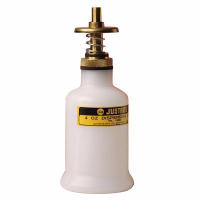 DISPENSING CAN, NONMETALLIC, WITH BRASS DISPENSER VALVES, 4 OUNCES