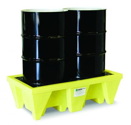 Two-drum spill pallet