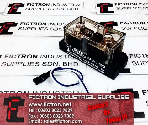 SAM40150D GOLD Solid State Relay 150A 24-480VAC 4-32VDC Supply Malaysia Singapore Thailand Indonesia Europe & USA