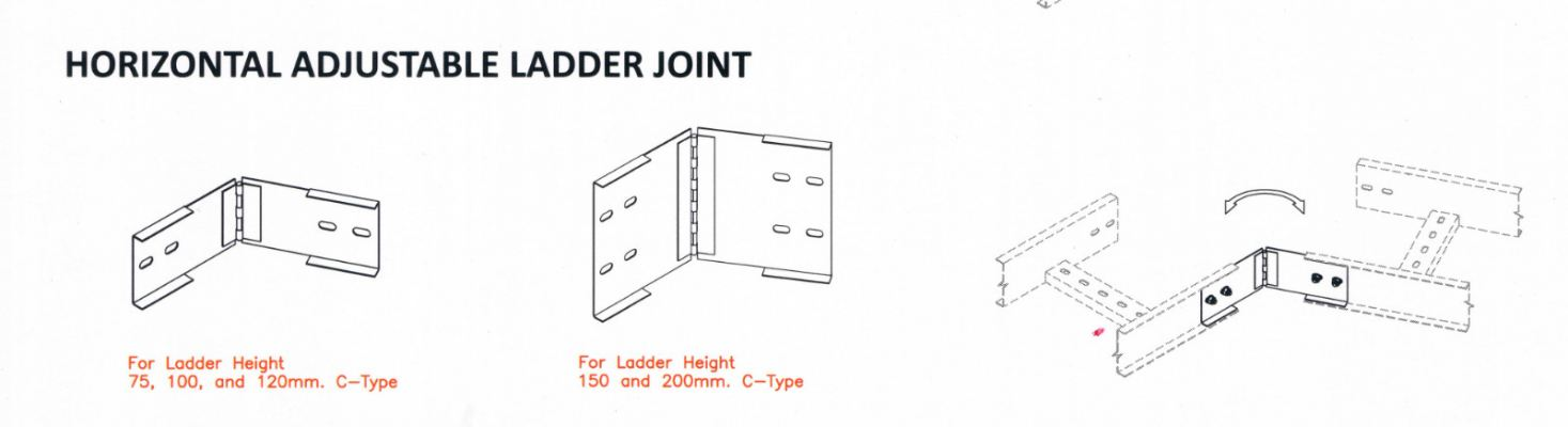 Ladder Accessories - Horizontal Adjustable Ladder Joint