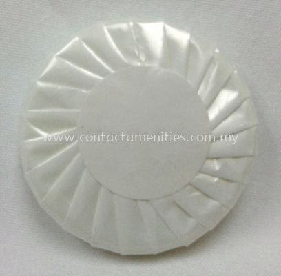 20g Soap in Pleated Wrap (Plain)