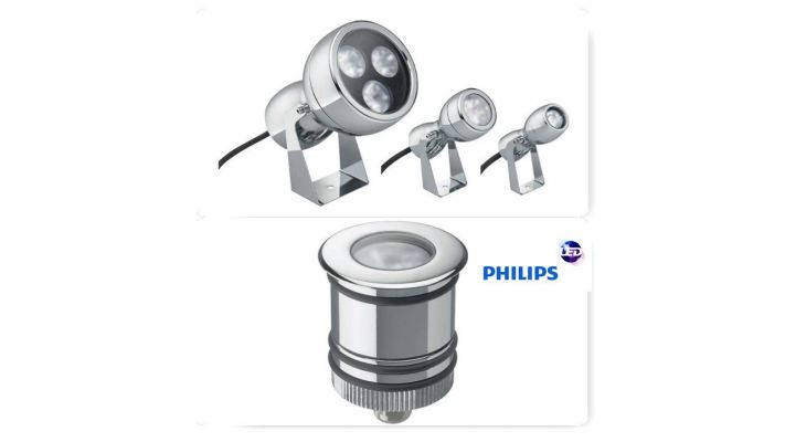Philips BVD410 LED underwater Amphilux