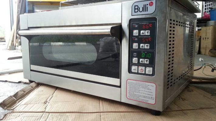Bulli 1 Deck 1 Tray (stainless Steel) Electric Oven