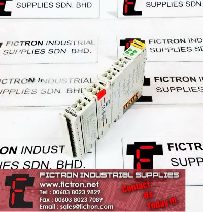 KL1114 BECKHOFF 4 x Digital Input Module 24VDC 0.2ms Filtertime Supply Malaysia Singapore Thailand Indonesia Europe & USA