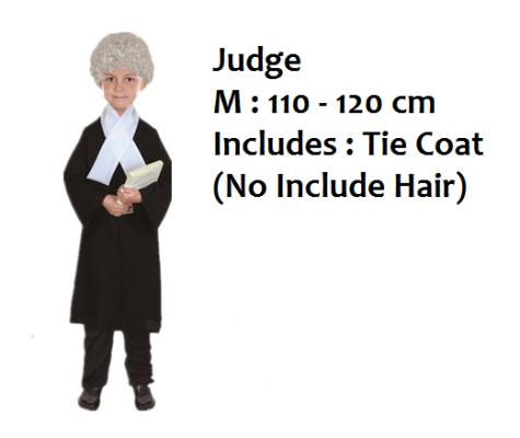 K1631 Career Kid Costume - Judge