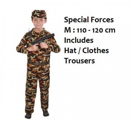 K1631 Career Kid Costume - Special Forces
