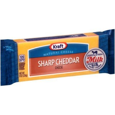 Kraft Sharp Cheddar Chunk - Resealable