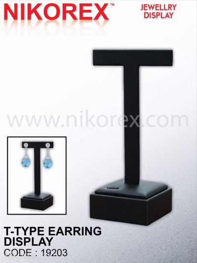 546301 - EARRING STAND T-TYPE