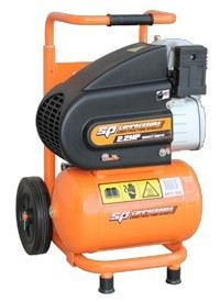 SP11-10X  2Hp Trade Duty Portable Air Compressor - Upright