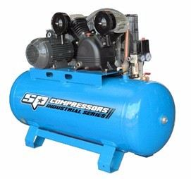 XRS25 Twin Cast Iron Mobile Air Compressor
