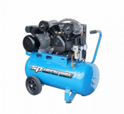 XRV14 | XRV17 Twin Cast Iron Belt Drive Portable Air Compressors