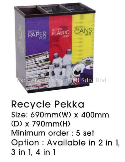 Recycle Pekka 3 in 1