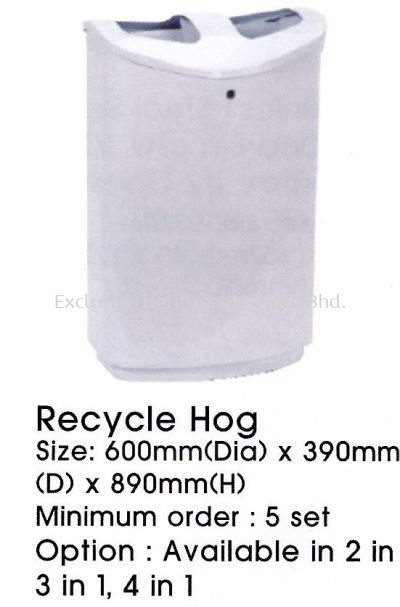 Recycle Hog 3 in 1