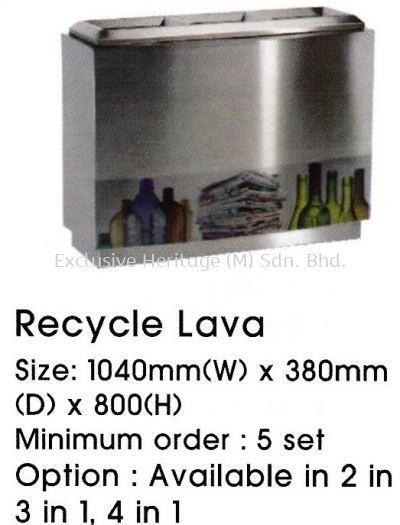 Recycle Lava 4 in 1