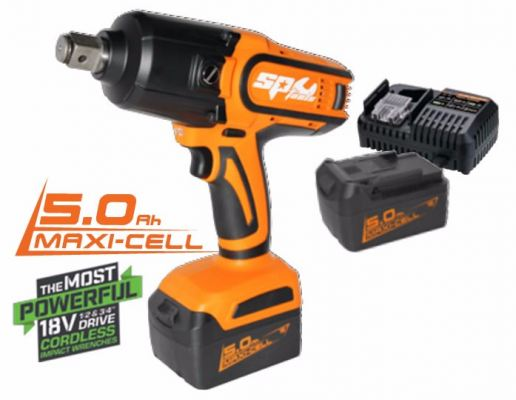 18v 3-4 5.0ah Impact Wrench