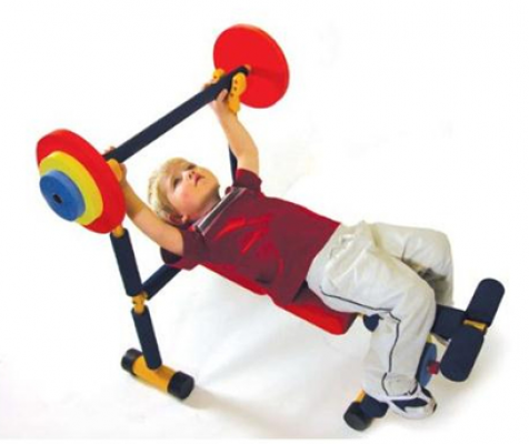 GYM Kids Set - Weightlifting