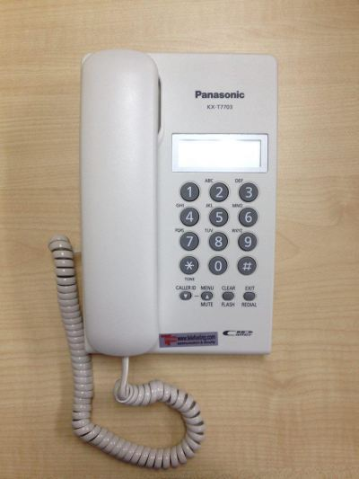 PANASONIC KXT-7703 DISPLAY SINGLE LINE PHONE