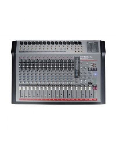 Phonic AM1221X 12-Mic/Line 4-Stereo 2-Bus Mixing Console with DFX