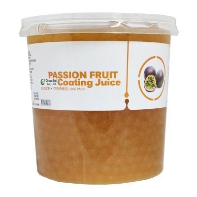 PASSION FRUIT COATING JUICE(BOBA)3.2KG