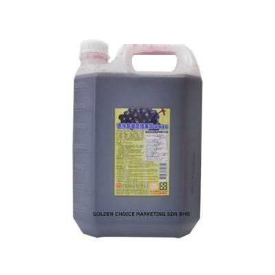 5.0KG CHAMPAGHE GRAPE SYRUP