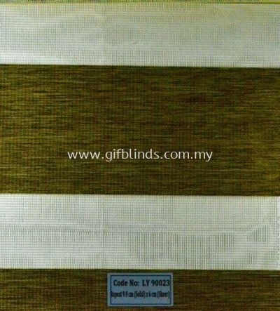 Zebra Blinds Sample LY90023
