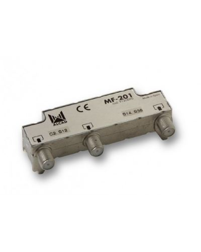 Alcad MF-201 Filtered Multiplexers for Head-Ends