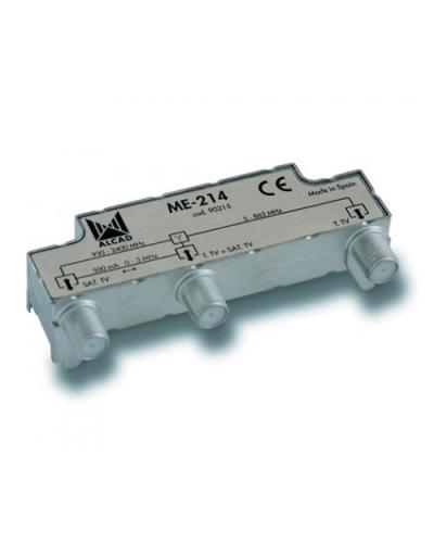 Alcad ME-214 TV-SAT Multiplexer