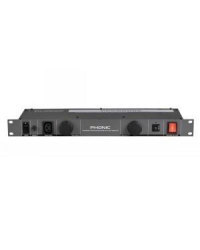 Phonic PPC9000E 10-Outlet Power Conditioner with Light Modules and Surge Protection (European Standards)
