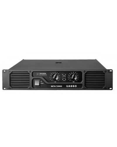 Beta Three UA660 2 x 330W 8 �� Power Amplifier
