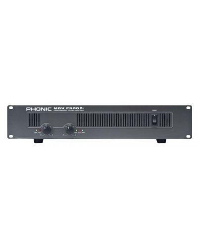Phonic MAX2500 PLUS2 x 500W 8�� Power Amplifier