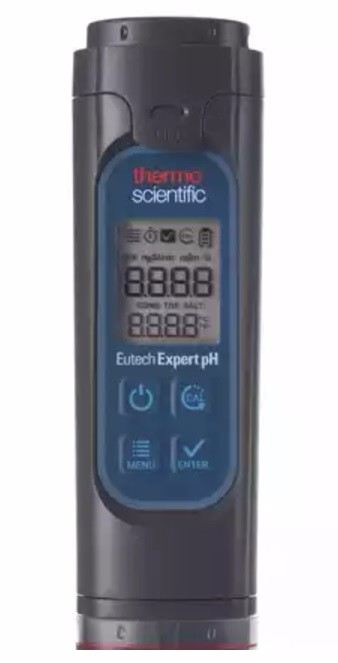 Thermo Scientific Eutech™ Expert pH Pocket Tester pH Meter Cole-Parmer