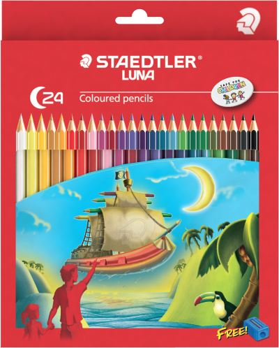 24 Long Colour Pencil