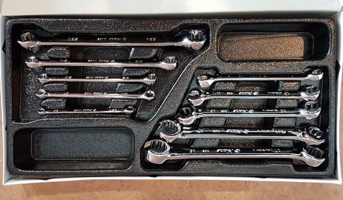 HANS 10PC E-STAR & FLARE NUT WRENCH SET ID995879