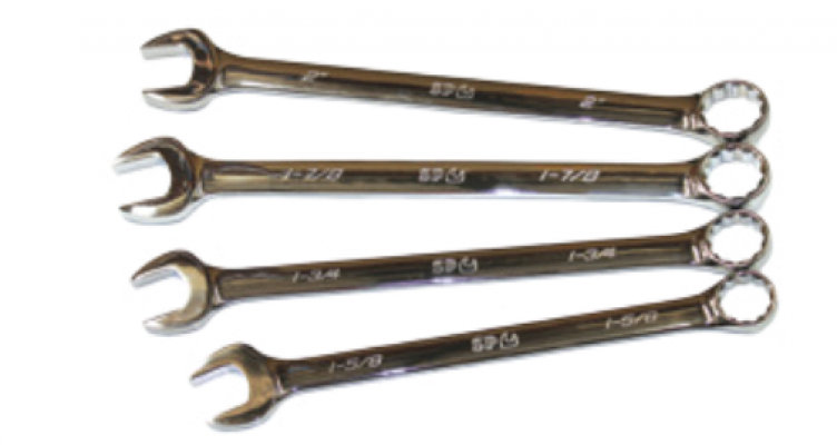 SAE Jumbo Combination Wrench/Spanner Set