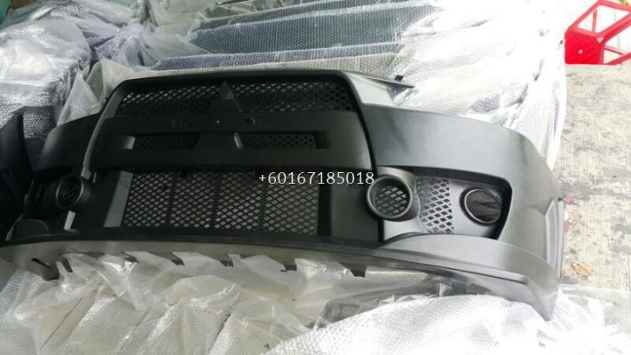 mitsubishi lancer ex bodykit front fq400 bumper pp material new