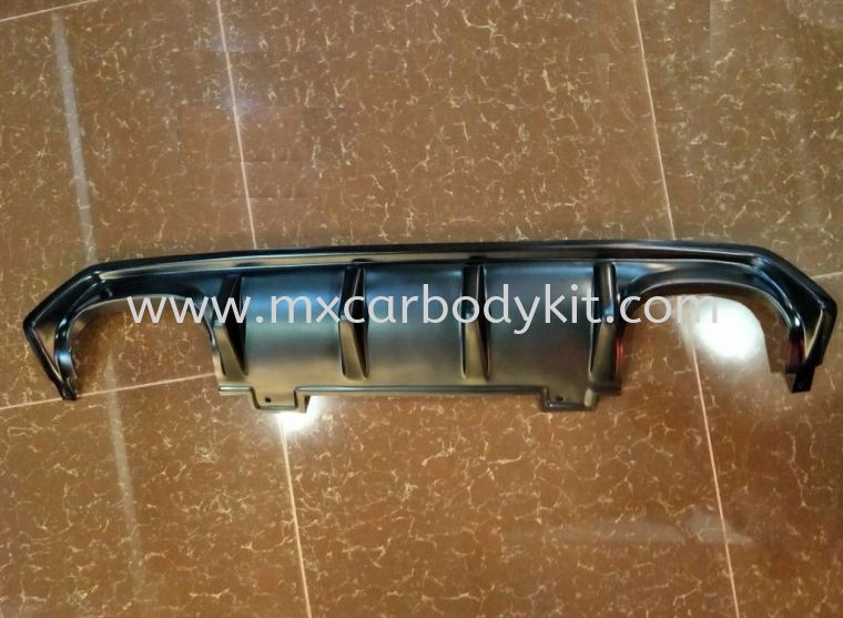 HONDA CIVIC 2016 REAR BUMPER CENTRE LIP DIFFUSER  CIVIC FC 2016 HONDA