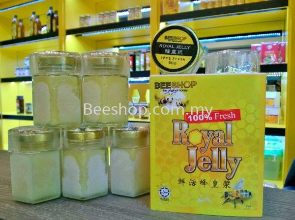 Fresh Royal Jelly 100gm x 6 FREE 100gm BEST BUY PACKAGE Malaysia, Kulai, Johor Bahru (JB) Supply, Supplier, Suppliers, Wholesaler | Eco Bee Shop Sdn Bhd