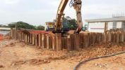 Temporary Sheet Piling for Pump Sump IKEA Tebrau City Sheet Piling Project References