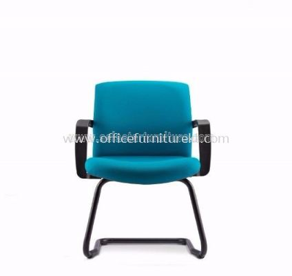 FITS EXECUTIVE VISITOR CHAIR WITH CANTILEVEL BASE AFTF7113